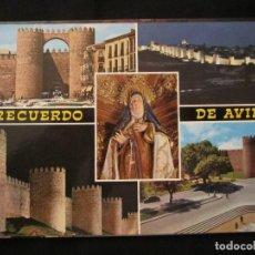 Postales: POSTAL ÁVILA DETALLES DE LA CIUDAD. Lote 136867844