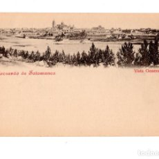 Postales: SALAMANCA.- RECUERDO DE SALAMANCA. VISTA GENERAL. Lote 134918938