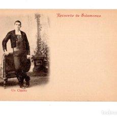 Postales: SALAMANCA.- RECUERDO DE SALAMANCA. UN CHARRO. Lote 134920114
