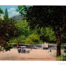 Postales: BÉJAR (SALAMANCA).- ALREDEDORES DE LA PLAZA DE TOROS. ED. HIJO DE DANIEL R. ARIAS. Lote 135070410