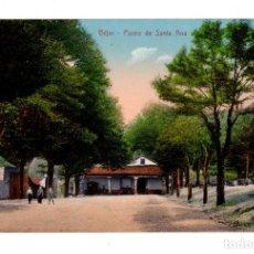 Postales: BÉJAR (SALAMANCA).- PASEO DE SANTA ANA. ED. HIJO DE DANIEL R. ARIAS. Lote 135070430