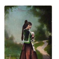 Postales: BÉJAR (SALAMANCA).- TIPO DE CANDELARIO. Lote 135071058