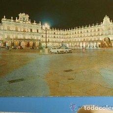 Postales: POSTAL DE SALAMANCA - PLAZA MAYOR AÑOS 60 - CIRCULADA. Lote 135084870