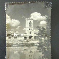 Postales: POSTAL PALENCIA. SAN MIGUEL Y RÍO CARRIÓN. . Lote 135132594