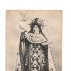 Postales: VERDADERO RETRATO DE STA TERESA DE JESUS, COMO SE VENERA CONVENTO DE MM. CARMELITAS DESCALZAS TORMES. Lote 135308858