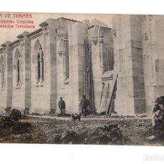 Postales: ALBA DE TORMES.(SALAMANCA).- LAS PRIMERAS CAPILLAS DE LA BASÍLICA TERESIANA. FÉLIX BRIZ.. Lote 135309214