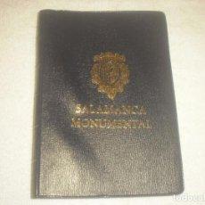 Postales: SALAMANCA MONUMENTAL, BLOCK DE 20 POSTALES EN COLOR.. Lote 135573910
