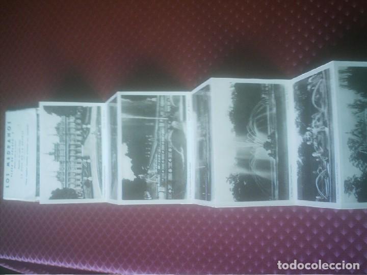 DESPLEGABLE FOTOGRAFICO LA GRANJA LAS FUENTES. (Postales - España - Castilla y León Antigua (hasta 1939))