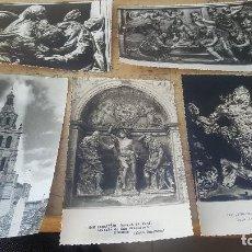 Cartes Postales: 7 POSTALES FOTOGRAFICAS DE RIOSECO, IGLESIA STA. MARIA Y SAN FRANCISCO, FOTO BARRIOS, RESERVADO!. Lote 135642327