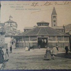 Postales: POSTAL VALLADOLID Nº 1837 MERCADO DE PORTUGALETE ED HAUSER Y MENET CASTILLA LEON BUENA CONSERVAC. Lote 135645831