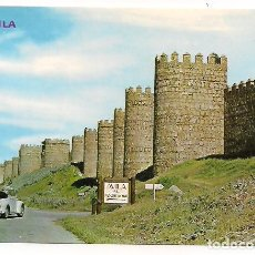 Postales: AVILA - MURALLAS - Nº637 - EDICIONES PARIS. Lote 136067566