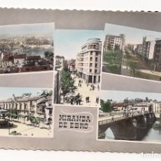 Postales: MIRANDA DE EBRO - BURGOS - EDICIONES M. ARRIBAS. Lote 136069654