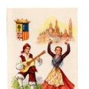 Postales: ZAMORA.- TRAJE REGIONAL. DIBUJO DE ELSY GUMIER. Lote 136153166