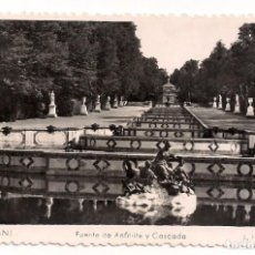 Postales: SEGOVIA - LA GRANJA - FUENTE DEL ANFITRITE Y CASCADA - L. FOISIN. Lote 136158126