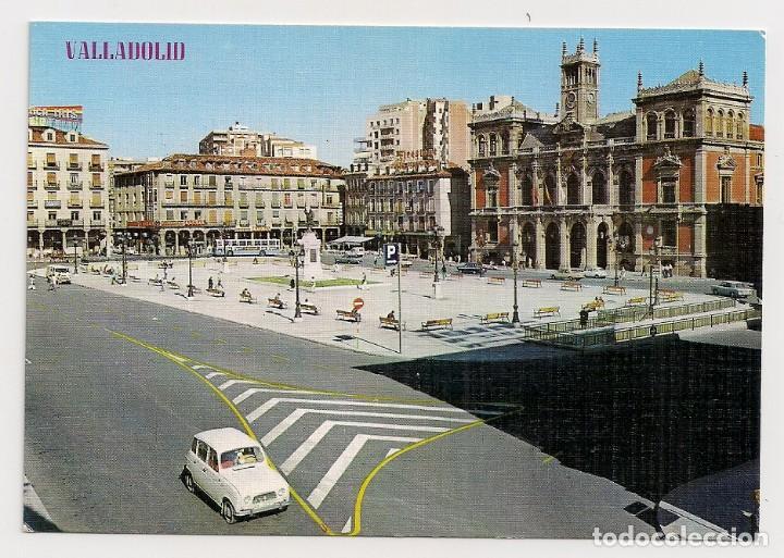 VALLADOLID - PLAZA MAYOR Y AYUNTAMIENTO - Nº354 - EDICIONES PARIS - SIN CIRCULAR (Postales - España - Castilla y León Moderna (desde 1940))