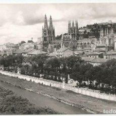 Postales: BURGOS - BELLA PANORÁMICA Y CATEDRAL - Nº 1013 ED. ARRIBAS. Lote 136475286