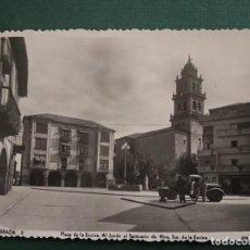 Postales: PONFERRADA - PLAZA DE LA ENCINA Y SANTUARIO - EDICIONES ARRIBAS 5.. Lote 137844418