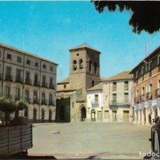 Postales: CARRION DE LOS CONDES Nº 5 PLAZA MAYOR , IGLESIA SANTIAGO .- POSTALES INTER . Lote 137846702