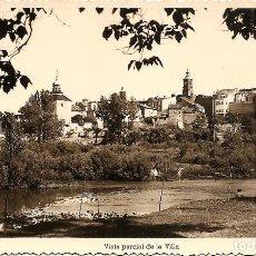 Postales: ALMAZAN (SORIA) - VISTA PARCIAL DE LA VILLA - EDICIONES ARRIBAS - SIN CIRCULAR. Lote 138273558