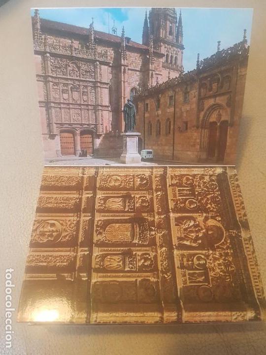 Postales: BELLO LIBRO (LOTE, POSTAL.) DE 20 POSTALES - SALAMANCA MONUMENTAL - AÑOS 60/70. - Foto 4 - 139204978