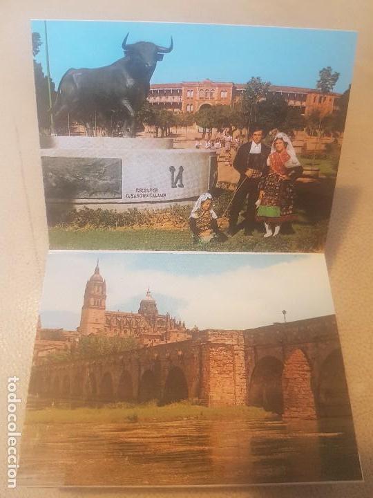 Postales: BELLO LIBRO (LOTE, POSTAL.) DE 20 POSTALES - SALAMANCA MONUMENTAL - AÑOS 60/70. - Foto 7 - 139204978
