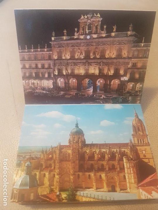 Postales: BELLO LIBRO (LOTE, POSTAL.) DE 20 POSTALES - SALAMANCA MONUMENTAL - AÑOS 60/70. - Foto 9 - 139204978