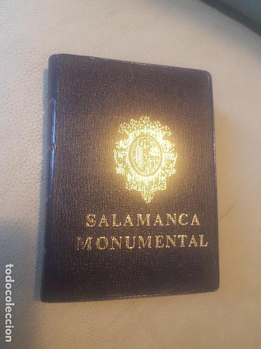 BELLO LIBRO (LOTE, POSTAL.) DE 20 POSTALES - SALAMANCA MONUMENTAL - AÑOS 60/70. (Postales - España - Castilla y León Moderna (desde 1940))