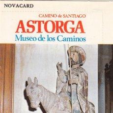Postales: POSTAL: 1976 ASTORGA CAMINO DE SANTIAGO - MUSEO DE LOS CAMINOS. Lote 139307006