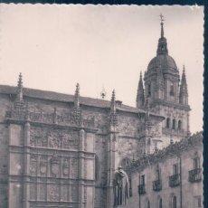 Postales: POSTAL SALAMANCA - FACHADA DE LA UNIVERSIDAD - GARRABELLA 34. Lote 139888410