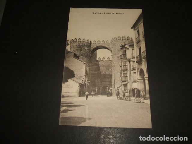 AVILA PUERTA DEL ALCAZAR (Postales - España - Castilla y León Antigua (hasta 1939))