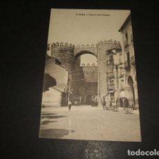 Postales: AVILA PUERTA DEL ALCAZAR. Lote 139911218