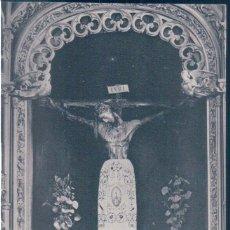 Postales: POSTAL BURGOS - CATEDRAL - EL SANTO CRISTO DE BURGOS EN MADERA CON PIEL DE BUFALO - HAUSER Y MENET. Lote 139944622