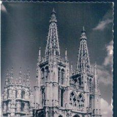 Postales: POSTAL BURGOS - CATEDRAL - DANIEL ARBONES 70 - CIRCULADA. Lote 139945878