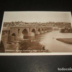 Postales: ZAMORA PUENTE ROMANO Y BARRIOS BAJOS. Lote 140067454