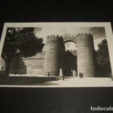 Postales: AVILA PUERTA DE SAN VICENTE. Lote 140183886