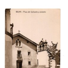 Postales: BÉJAR (SALAMANCA).- PLAZA DEL SANTUARIO Y CONVENTO. . Lote 140465114