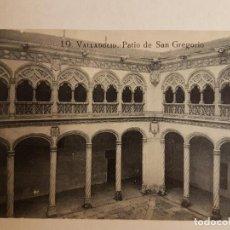 Postales: PATIO SAN GREGORIO VALLADOLID. Lote 140505250