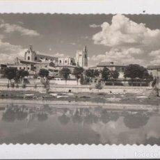 Postales: POSTAL. PALENCIA. LA CATEDRAL DESDE LA ORILLA DEL RÍO CARRIÓN. Lote 140518886