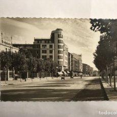 Postales: LOGROÑO. POSTAL NO.23, AVENIDA VARA DE REY. EDITA: GARCIA GARRABELLA (H.1950?). Lote 140600406