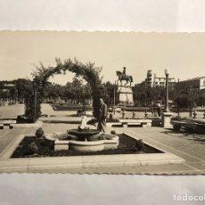 Postales: LOGROÑO POSTAL NO.21, PASEO DEL ESPOLÓN. EDITA: EDICIONES GARCÍA GARRABELLA (H.1950?). Lote 140603237