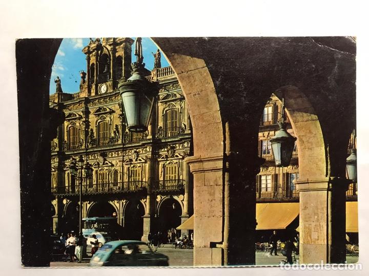 SALAMANCA. POSTAL AYUNTAMIENTO. EDITA : FARDI BARCELONA (H.1960?) (Postales - España - Castilla y León Moderna (desde 1940))
