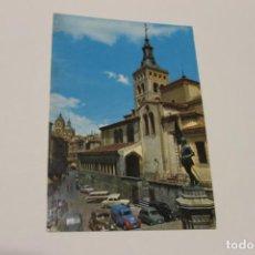 Postales: SEGOVIA, IGLESIA DE SAN MARTIN, AÑO 1967. Lote 140687034