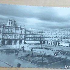 Postales: POSTAL SALAMANCA PLAZA MAYOR EDICIONES GARCÍA GARRABELLA Nº 16 14X9 CM. AÑO 1954. Lote 140744622