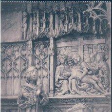 Postales: POSTAL BURGOS - MUSEO PROVINCIAL - SEPULCRO DE PADILLA - HAUSER Y MENET. Lote 140788486