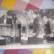 Postales: CUADERNILLO CON POSTALES DE SANTA CASILDA BRIVIESCA BUREBA BURGOS. DE LA 2 A LA 13. PUEDEN SEPARARSE. Lote 140841282