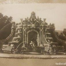 Postales: POSTAL TROQUELADA DE SEGOVIA.LA GRANJA, FUENTE DE LOS BAÑOS DE DIANA.HELIOTIPIA N°18. SIN CIRCULAR.. Lote 140950774