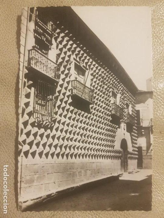 POSTAL TROQUELADA DE SEGOVIA, LA CASA DE LOS PICOS. ED.DOMINGUEZ N°18. SIN CIRCULAR. (Postales - España - Castilla y León Moderna (desde 1940))