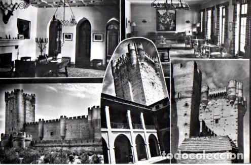 TARJETA POSTAL DE MEDINA DEL CAMPO. VALLADOLID. CASTILLO DE LA MOTA. Nº10. (Postales - España - Castilla y León Moderna (desde 1940))