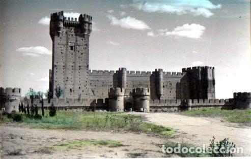 TARJETA POSTAL DE MEDINA DEL CAMPO. VALLADOLID. CASTILLO DE LA MOTA.Nº6 (Postales - España - Castilla y León Moderna (desde 1940))