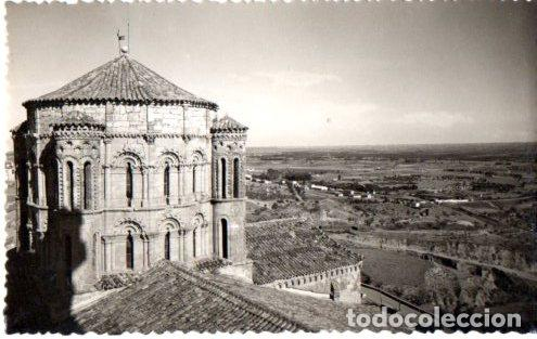 TARJETA POSTAL DE TORO. ZAMORA. COLEGIATA. DETALLE DEL CIMBORRIO. SIGLO XII. 1958 (Postales - España - Castilla y León Moderna (desde 1940))
